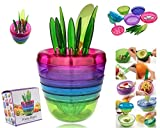 Bigshopkart Fruits-Plant Multi Kitchen Tool Set (10 Tools In One Plant) Made In Japan