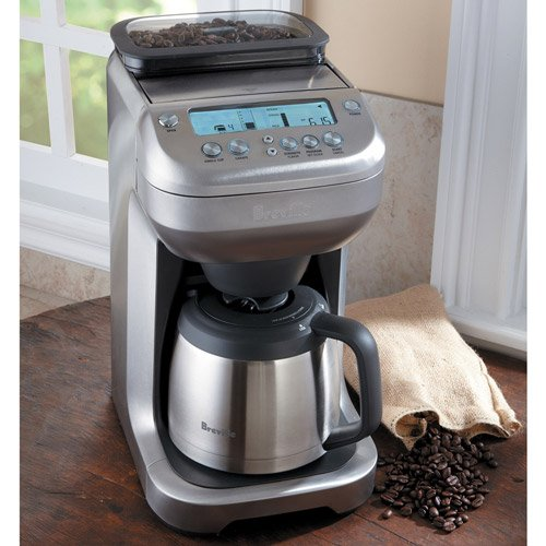Coffee Maker Built In Grinder Reviews : Breville BDC600XL YouBrew Drip Coffee Maker Review