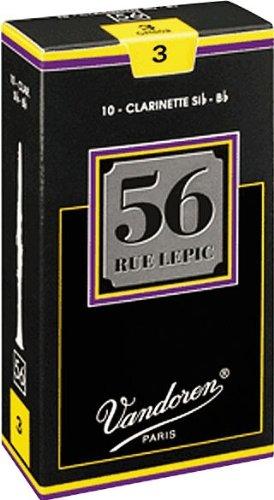 Vandoren 56 Rue Lepic Bb Clarinet Reeds #3.5+,
