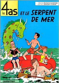 tome 1 : Les 4 as et le serpent de mer (French) Album – May 4, 1993