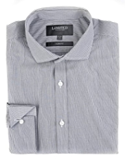 Limited Collection Cotton Rich Striped Slim Fit Shirt