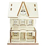 Doll House DIY Plywood Kit - Farmer House ★Made in Korea