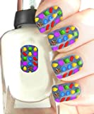 Easy to use, High Quality Nail Art For Every Occasion! Candy Crush Saga Wrap