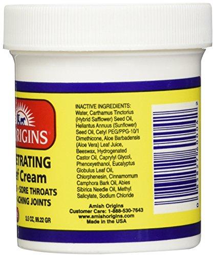 Deep Penetrating Pain Relief Greaseless Cream 3.5oz