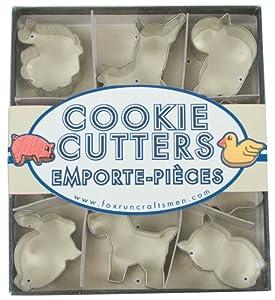 Fox Run Animal Mini Cookie Cutter Set by Fox Run