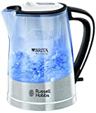 Russell Hobbs 22851 Plastic Brita Filter Purity Kettle, 3000 W, 1 Litre, Transparent