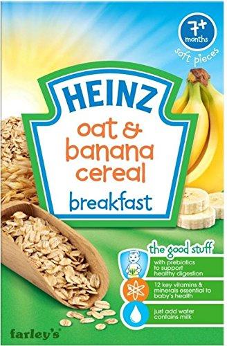 Heinz Breakfast Oat & Banana Cereal For Babies 7Mth+ (120G) front-884422