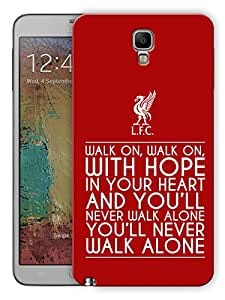"Humor Gang Walk On Walk On Quote Printed Designer Mobile Back Cover For ""Samsung Galaxy Note 3"" (3D, Matte, Premium Quality Snap On Case)"