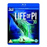 cheap life of pi 3D blu ray