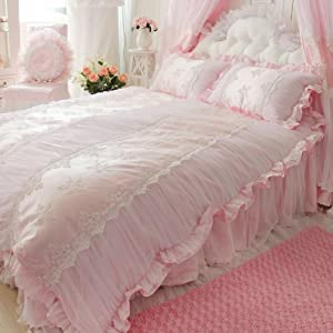 pink bedding sets king AZI9qZBU