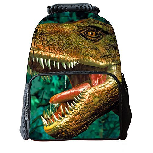 TomYork Black Friday Christmas Printed Zipper Casual Canvas Backpack (Animal 36) (Star Wars Blowers compare prices)