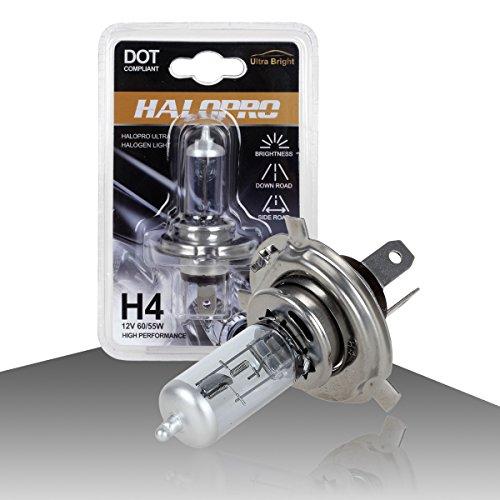 HaloPro High Performance 1pcs H4 9003 HB2 12V 60/55W Headlight High&Low Beam Halogen Bulb 7000-8000K Night White For Chevrolet /Honda /HYUNDAI (01 Vw Passat Headlight Assembly compare prices)