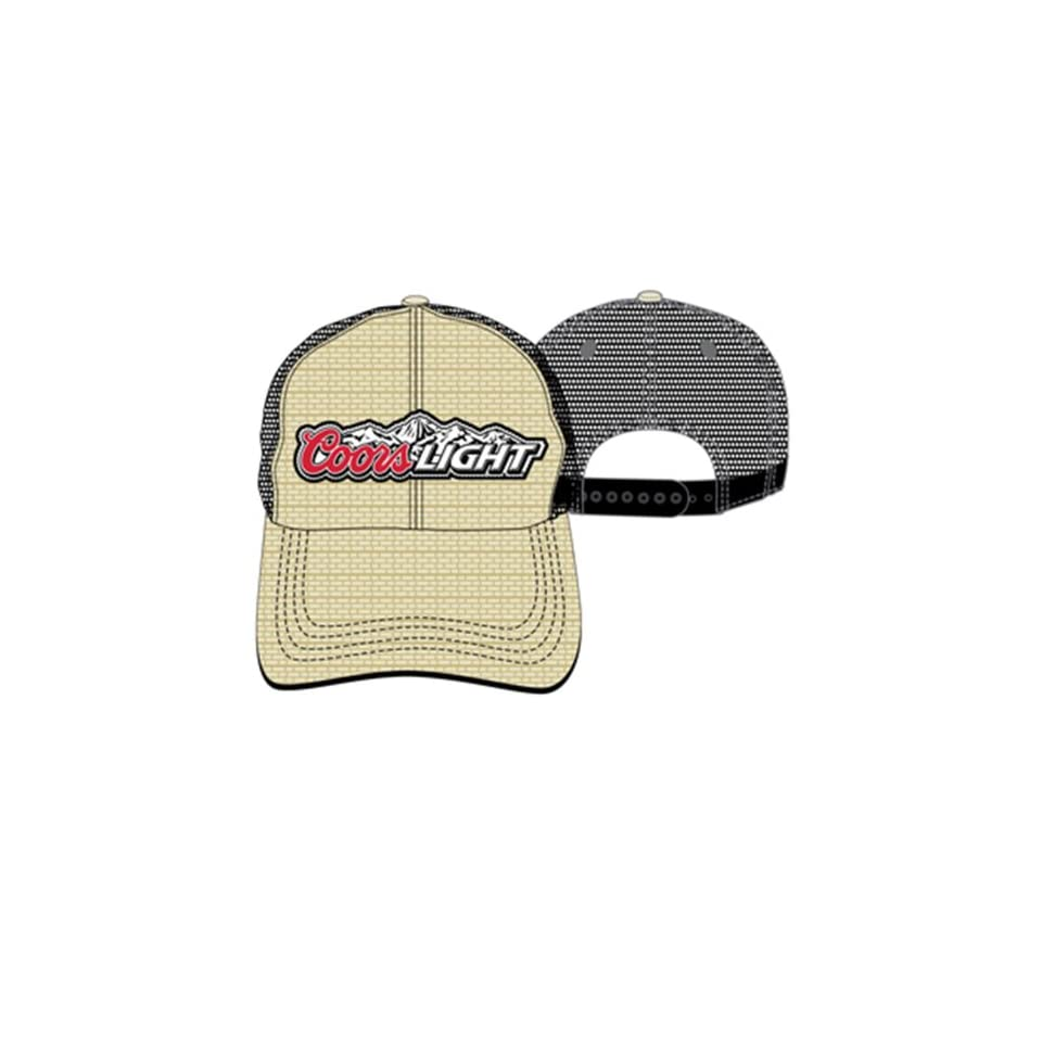 Coors Light Straw Adjustable Hat Clothing on PopScreen 0885cf953f3