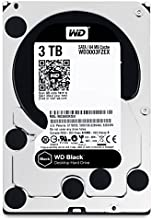 Comprar WD Black - Disco duro de alto rendimiento para ordenadores de sobremesa de 3 TB (7200 rpm, SATA a 6 Gb/s, 64 MB de caché, 3,5