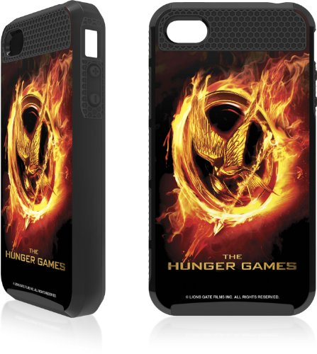 Skinit The Hunger Games Logo Apple iPhone 4 / 4S Cargo Case