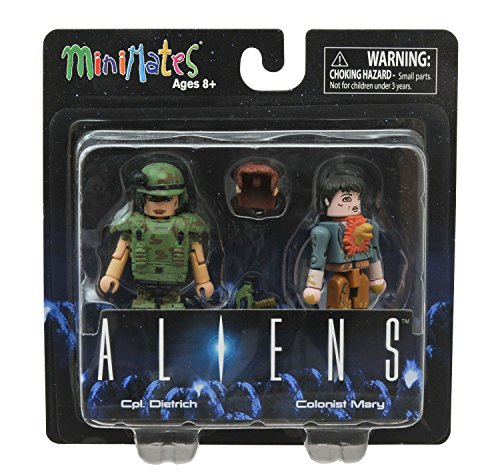 Aliens Minimates Cpl. Dietrich & Colonist Mary Minifigure Set