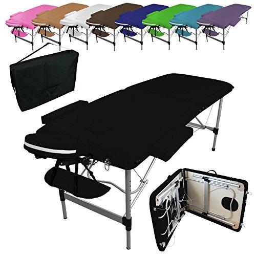linxor-france-r-table-de-massage-pliante-2-zones-en-aluminium-accessoires-et-housse-de-transport-neu