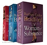 Barbara Taylor Bradford Emma Harte Series - 3 books a Woman of Substance / Hold the Dream / To Be The Best - No. 1, 2, 3 ,