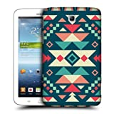 Head Case Designs Ice and Fire Geometric Tribal Patterns Protective Snap-on Hard Back Case Cover for Samsung Galaxy Tab 3 7.0 P3200 T210 WiFi