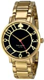 "kate spade new york Women's 1YRU0430 ""Gramercy"" Gold-Tone Watch with Link Bracelet"