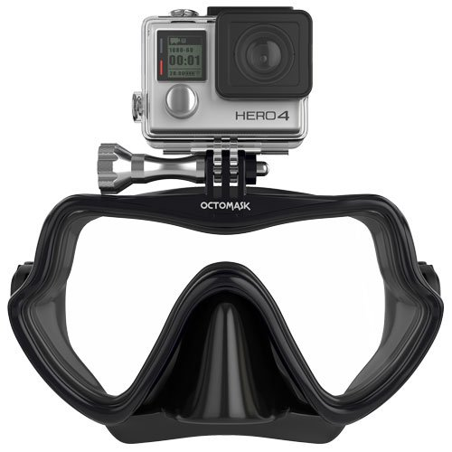 GoPro Hero4 and Hero3+ Frameless Dive Mask for Scuba Diving and Snorkeling