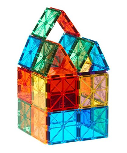32PCS-with-5-shapes-clear-color-magnetic-building-bricks-blocks-magnetic-toys-in-bright-color-preschool-junior-games-3D-construction-stacking-blocks-and-magnetic-toy-board-educational-toy