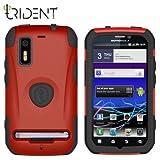 耐衝撃+防塵性! Trident Case Aegis Case for Motorola Photon ISW11M ( Red ) トライデントケース モトローラ フォトン ケース レッド