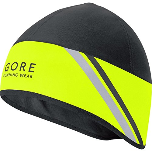 gore-running-wear-herren-warme-lauf-mutze-gore-windstopper-mythos-20-ws-hat-grosse-one-neon-gelb-sch