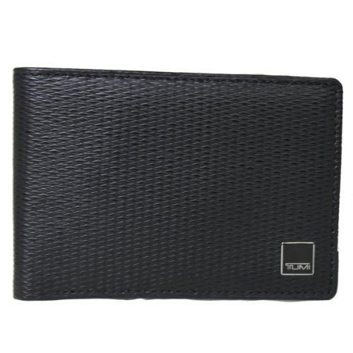 [トゥミ]TUMI Monaco Double Billfold 18233 多機能カードスロット 財布 TIAC-F8 [並行輸入品] FREE ブラック