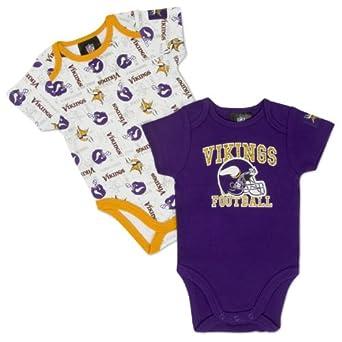 Amazon NFL Minnesota Vikings Short Sleeve Infant