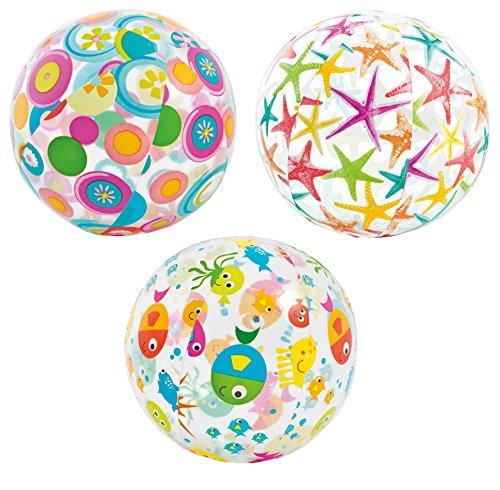 Intex 59050 - Pallone Fantasia, 61 cm, Multicolore