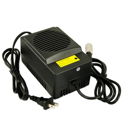 24V-8A Scooter Power Wheel Chair Battery XLR Charger Faster Charge than 24V/1A, 24V/1.5A, 24V/2.0A, 24V/4.0A