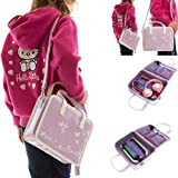 Ultimate Addons Girls Handbag Audio Bundle for LeapFrog LeapPad Ultra including Pink Headphones (Violet)