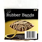 A&W Products Rubberbands, Natural Color, Assorted Size (35021.P)