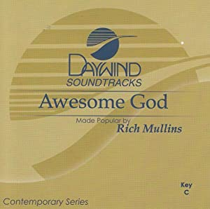 Awesome God [Accompaniment/Performance Track]