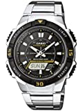 Casio Collection Herren-Armbanduhr Solar-Kollektion Analog-Digital Quarz AQ-S800WD-1EVEF