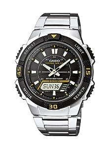 Casio Collection Herren-Armbanduhr Solar-Kollektion Analog-Digital Quarz AQ-S800WD-1EVEF
