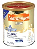 Nutramigen with Enflora LGG for Cow?s Milk Allergy Powder can, for Babies 0-12 Months, 12.6-Ounce Cans (Case of 6)