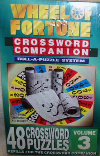 Wheel of Fortune Crossword Companion Roll-a-Puzzle System Refill (Vol. 3)