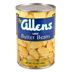 Allen's Canning Beans Large Butter, 15.5-Ounce (Pack of 24)