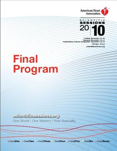 AHA Scientific Sessions 2010 Final Program