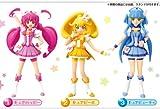 スマイルプリキュア! プリキュアキューティーフィギュア おもちゃ 食玩 バンダイ(全3種フルコンプセット