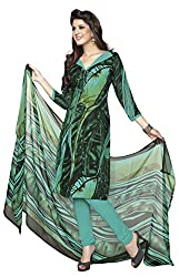VSS Collections Women's Synthetic Unstitched Dress Material(1080,Multi-Color)