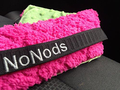 Nonods Car Seat Head Support/headband Green/pink Furniture ...