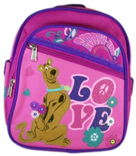"Scooby Doo ""Peace & Love"" 10"" Mini Backpack (Daypack) front-908576"