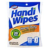 Clorox Handi Wipes Heavy Duty Reusable Cloths, 3 Count, (Pack of 4) (Colors May Vary)