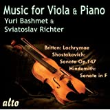 Richter & Bashmet: Music for Viola & Piano