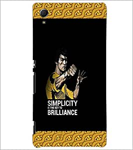 PrintDhaba Quote D-4239 Back Case Cover for SONY XPERIA Z4 (Multi-Coloured)