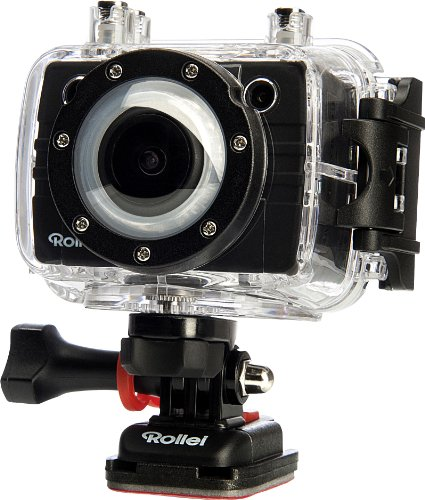 Rollei 5S WiFi Basic Edition (Actioncamcorder, Full HD, WiFi, Sportscam) Black