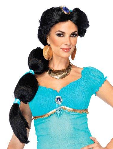 [Jasmine Wig Costume Accessory] (Princess Jasmine Wig)